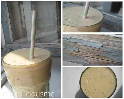 buttermilk nectarine smoothie