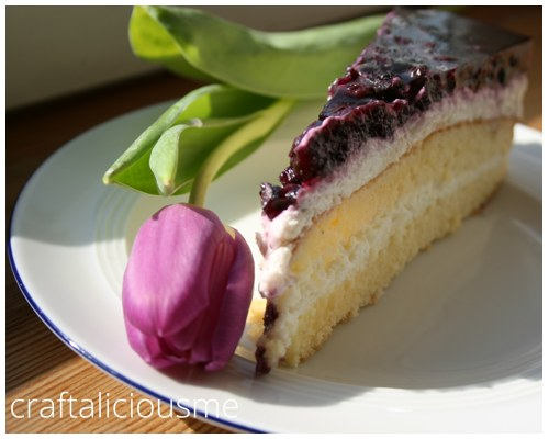 blueberry cream cheese cake