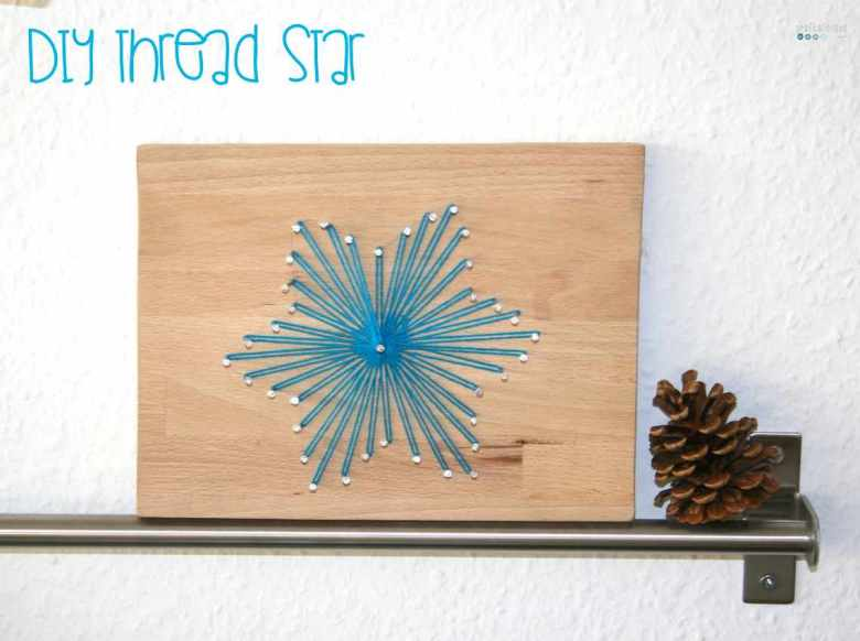 DIY Thread Star