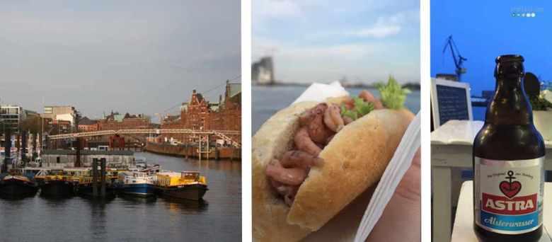 Hamburg Alsterwasser Hafen