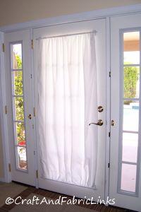 free curtain pattern for metal door