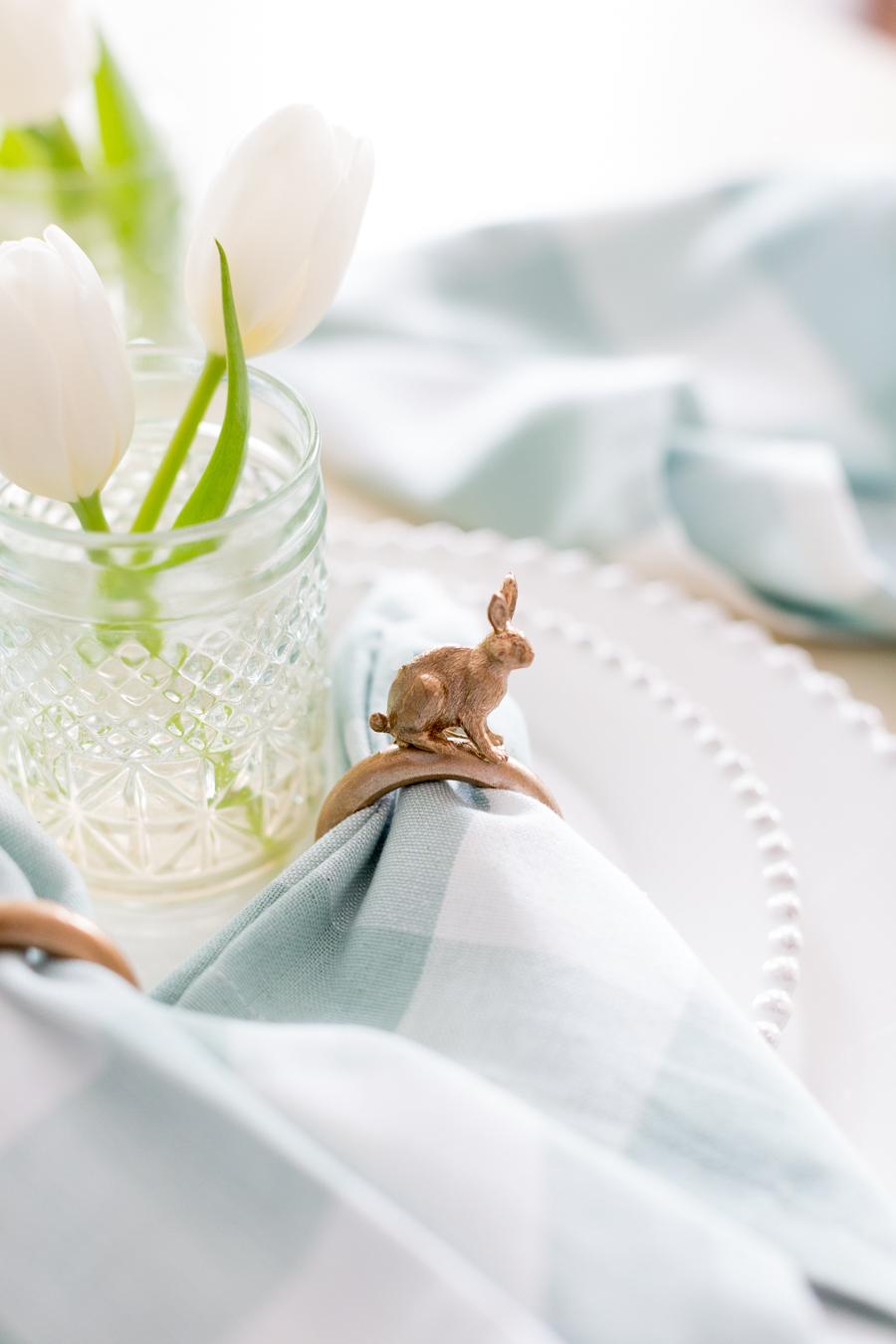 DIY Easter Bunny Napkin Ring