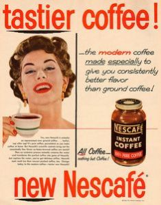 nescafe instant coffee poster