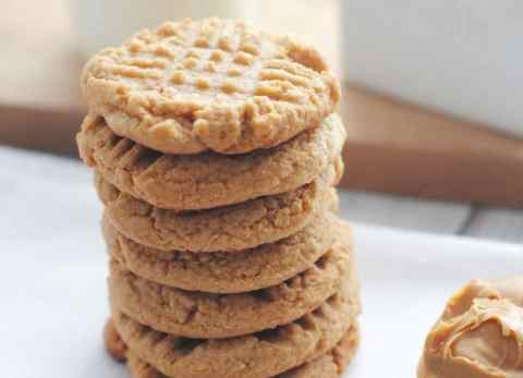 These 3 ingredient peanut butter cookies are keto friendly AND gluten free!