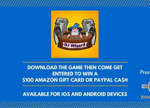 Enter to win DJ Wizard $100 Amazon Gift Card or Paypal!
