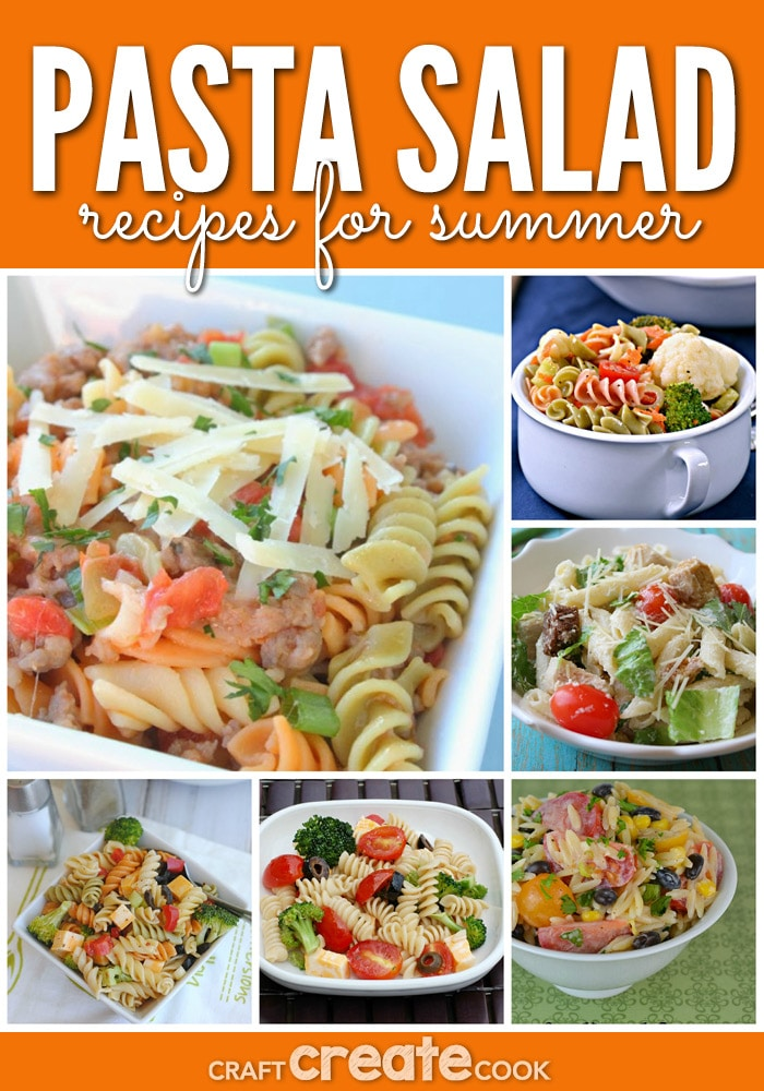 Your family will love these delicious pasta salad recipes for summer!
