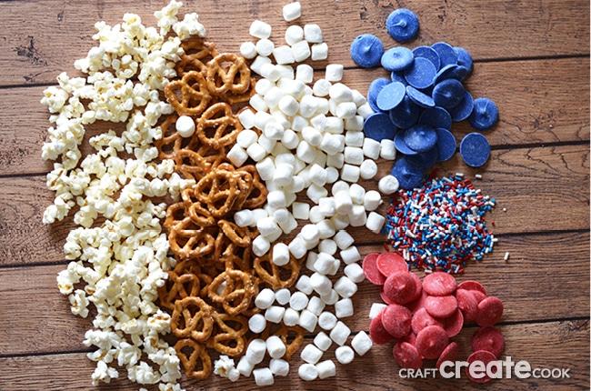 Patriotic Snack Mix