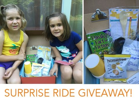Your kiddos will love Surprise Ride, a fun and unique monthly activity box for kids!