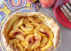 This delicate peach pancake recipe will wow your taste buds!