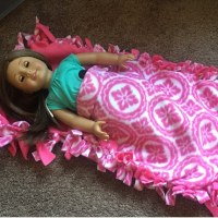 American Girl No Sew Sleeping Bag