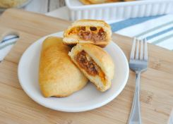 Sloppy Joe pockets are an easy go to meal and perfect for using up leftovers!