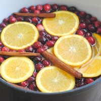 Cranberry, Orange & Clove Stovetop Potpourri