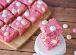 These Valentine Cream Cheese Cookie Bars are so good you might not want to share them!