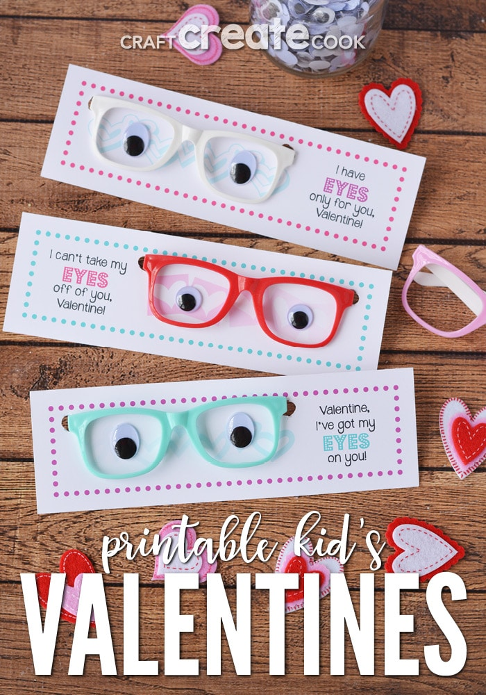 These printable valentine cards are great for classroom parties!