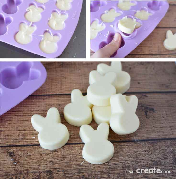 White Chocolate Easter Bunny Treats
