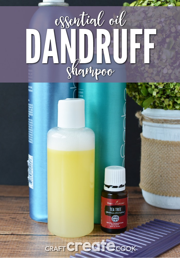 Essential Oils for Hair Homemade Dandruff Shampoo