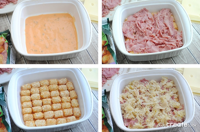 This Reuben Tator Casserole is the perfect addition to St. Patrick's Day or any day for that matter!