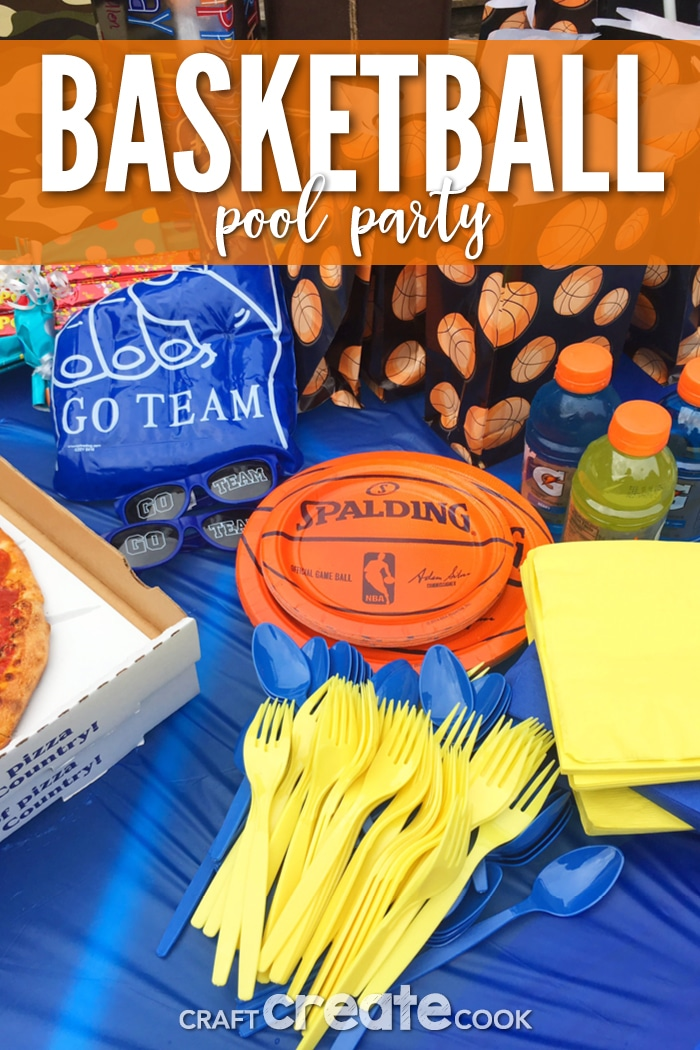 If you're looking for a fun birthday party, our Basketball Pool Party is the perfect kind of party for little sport lovers.