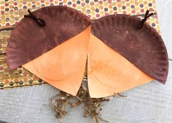 Our Paper Plate Acorn Craft for Kids is the perfect craft to make during a chilly Fall day.