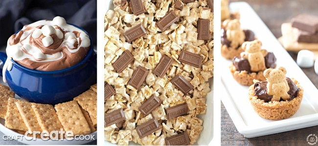 These 20 Awesome S'more Recipes are perfect for any time of year!