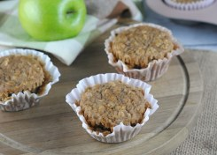 Apple Oat Muffins are great for snacking or a quick healthy breakfast.