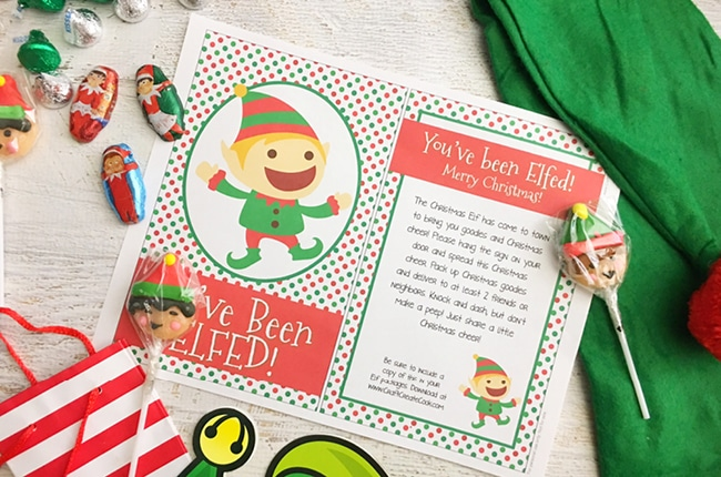 photograph about You've Been Elfed Free Printable titled Craft Make Prepare dinner - Youve Been Elfed with Absolutely free Printable