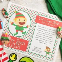 You've Been Elfed with Free Printable