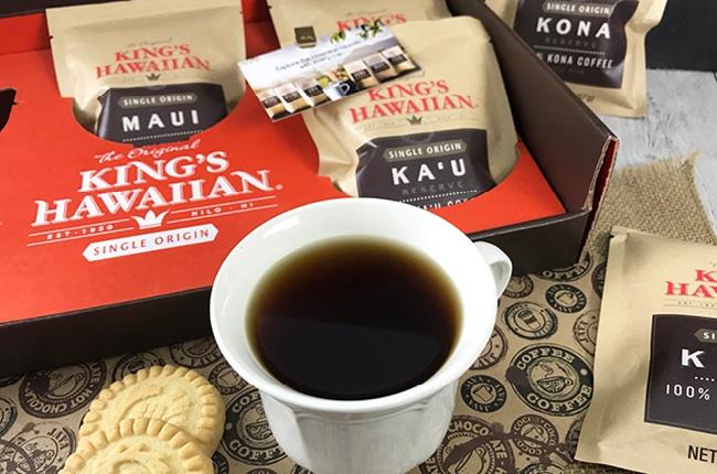 Give the gift of Kings Hawaiian Coffee This year!