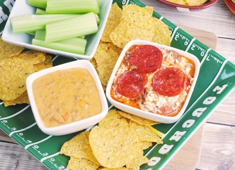 These easy and delicious dip recipes are perfect for game day!