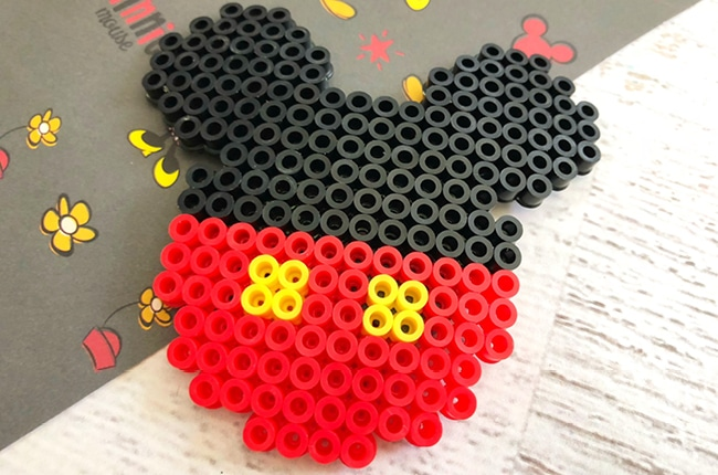 Our Mickey Mouse Inspired Magnet is a great craft to get you excited about Disney.