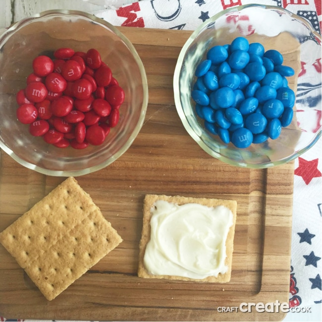 Easy Patriotic Snack for Kids
