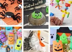 Here are 15 great Halloween crafts for kids to make this fall!
