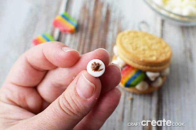 Take your creativity to a whole new level with these easy to make no bake monster cookies!