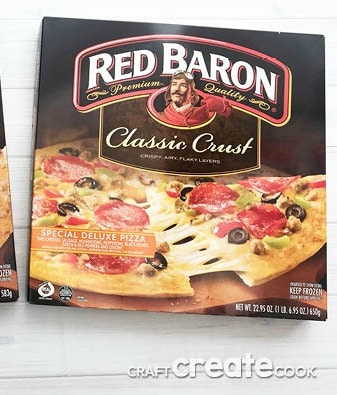 Conquer holiday meal time chaos these holiday season with Red Baron Classic Crust Pizzas!