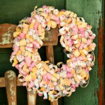 Spring Curly Paper Wreath