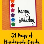 31 Days of Handmade Cards – Day 2