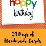 31 Days of Handmade Cards – Day 5