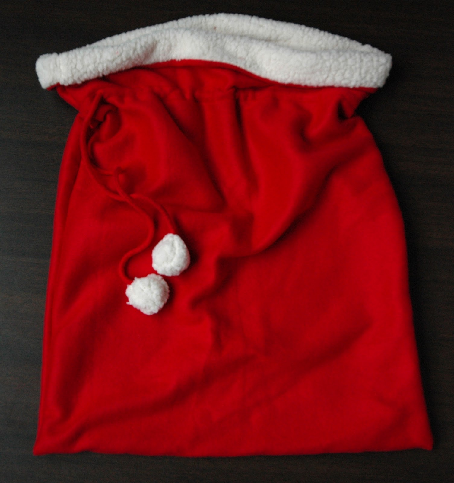Make A Santa Bag A Tutorial