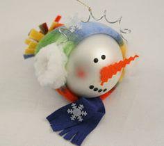 100 Snowman Crafts