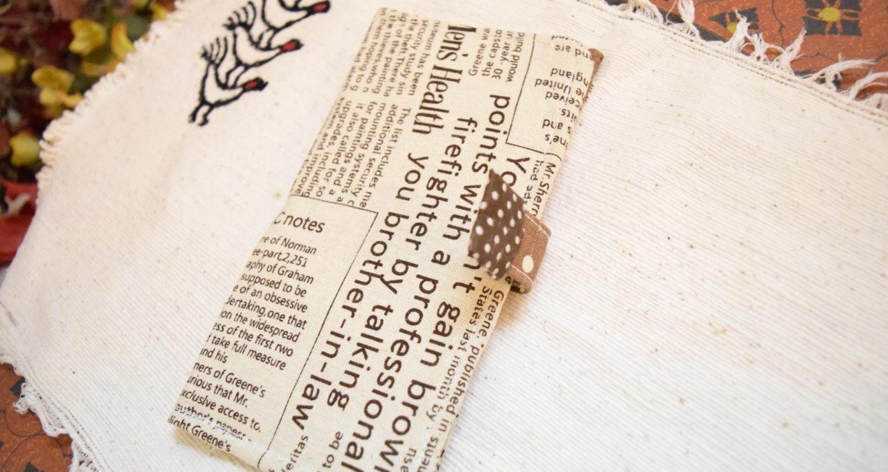 Newspaper Style Wallet