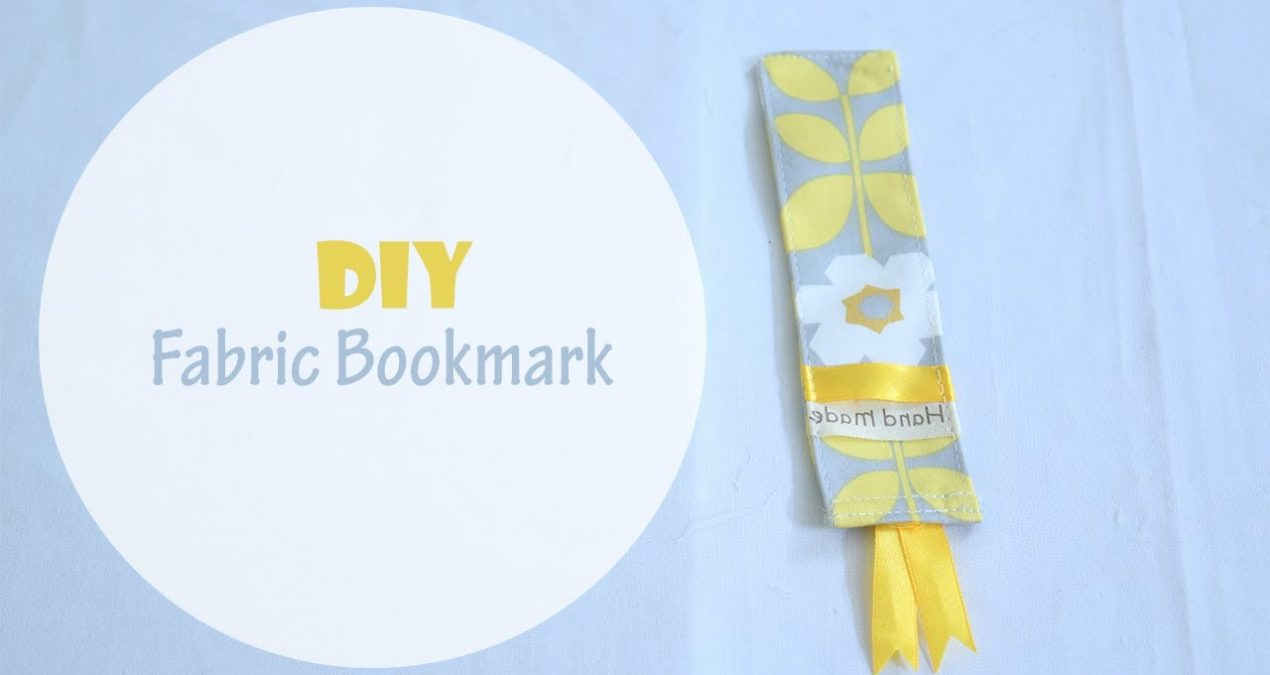 How to sew DIY Fabric Bookmarks in just 5 minutes
