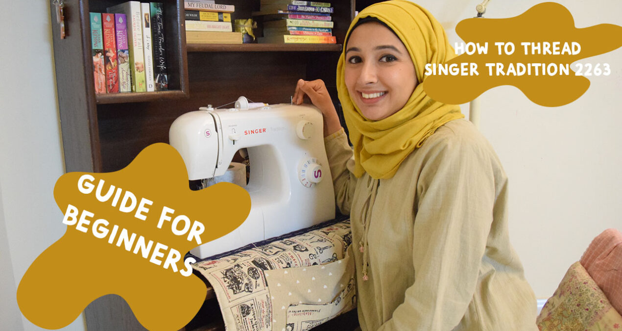 """EPISODE 1- Learn to sew- A Beginners Guide """"Threading the Sewing Machine"""""""