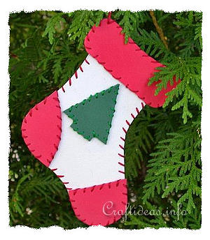 Free Christmas Craft Projects For Kids Fun Foam Stocking