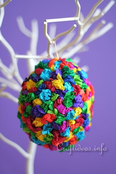 Colorful Easter Egg Craft for Kids