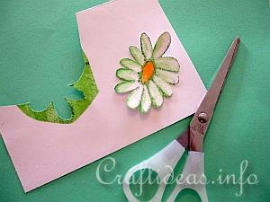 Paper Napkin Applique with Fusible Web 5