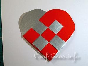 Craft Ideas For Christmas How To Make Woven Paper Hearts