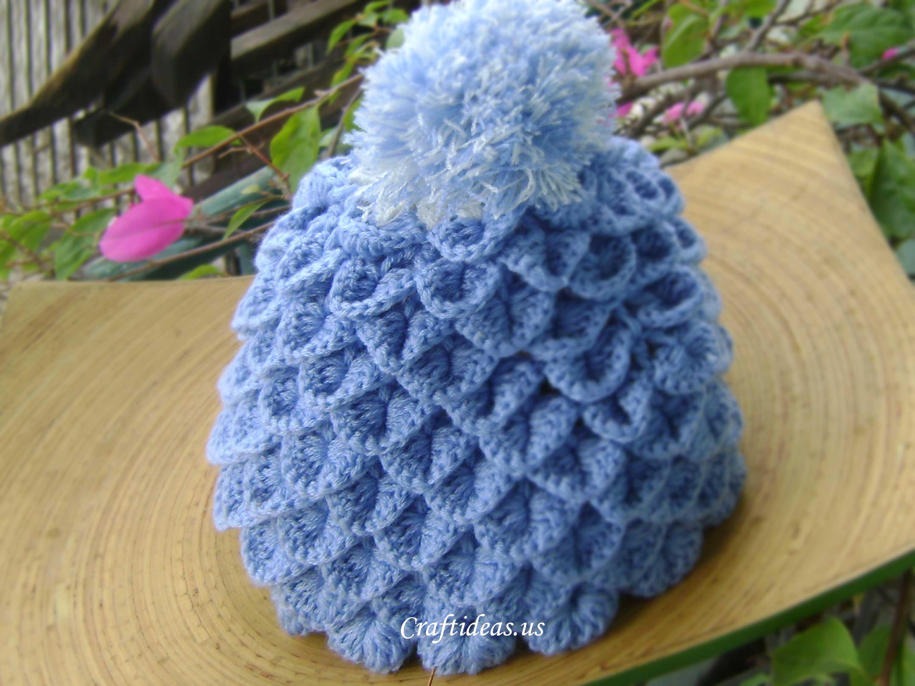 Free Pattern Crochet Crocodile Hat 13d0448b024