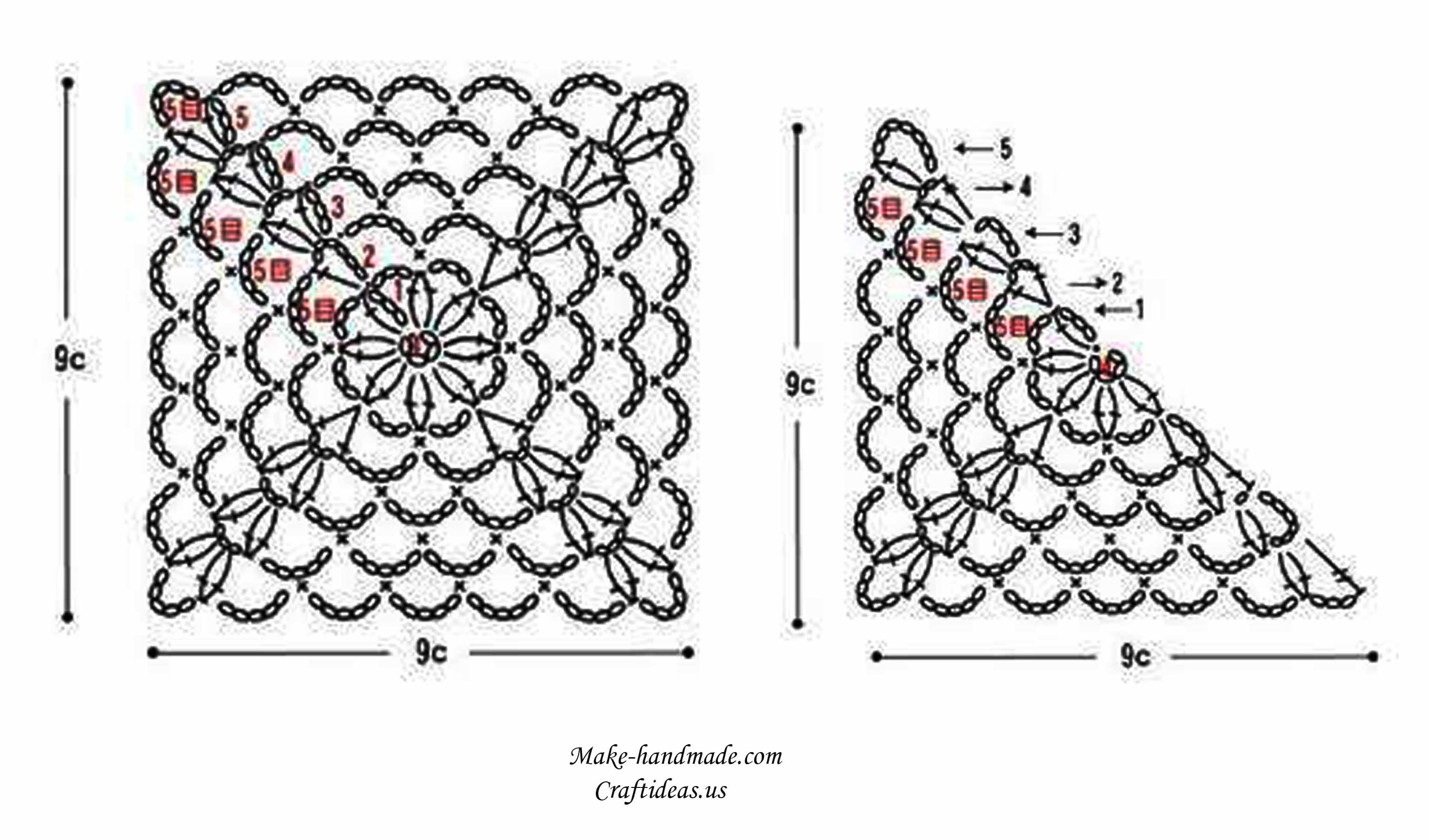 Crochet T Bow