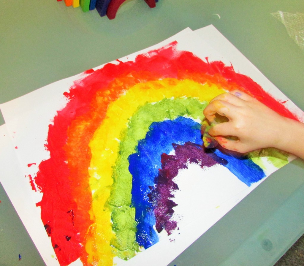 Rainbow Colour Mixing