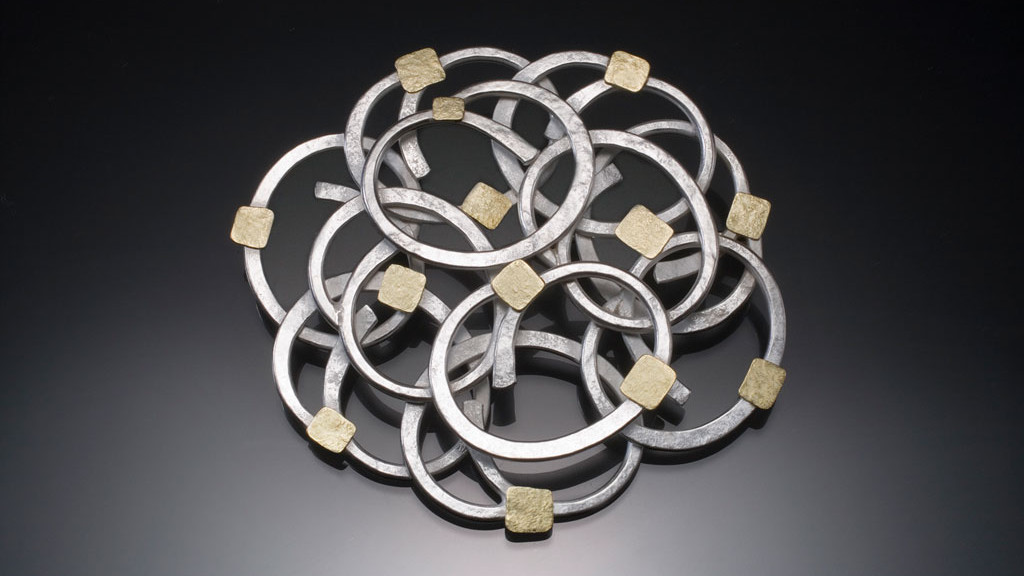 Ken Loeber, Rose Brooch, 1996